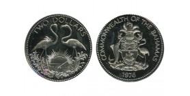 2 Dollars Bahamas Argent