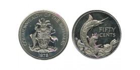 50 Cents Bahamas Argent