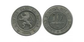 10 Centimes Légende Française Belgique
