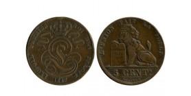 5 Centimes Leopold Ier Légende Française Belgique