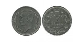 5 Francs Albert Ier Légende Flamande Belgique