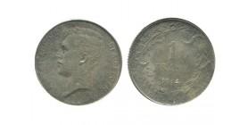 1 Franc Albert Ier Légende Flamande Belgique Argent