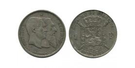 1 Franc 50 Ans de L'indépendance Belgique Argent