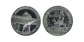 10 Euros Belgique Argent
