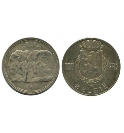 100 Francs Légende Flamande Belgique Argent