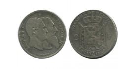 2 Francs 50 Ans de L'indépendance Belgique Argent