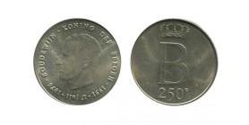 250 Francs Baudouin Ier Légende Flamande Belgique Argent