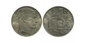 50 Francs Légende Flamande Belgique Argent