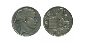 50 Francs Légende Française Belgique Argent