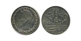 50 Francs Baudouin Légende Flamande Belgique Argent