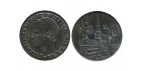 50 Francs Baudouin Légende Française Belgique Argent