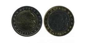 1 et 2 Euros Monaco