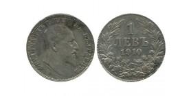 1 Lev Ferdinand Ier Bulgarie Argent