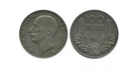 100 Leva Boris III Bulgarie Argent