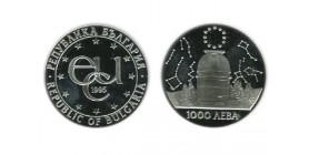 1000 Leva Bulgarie Argent