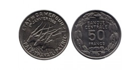 50 Francs Cameroun - Etat du Cameroun