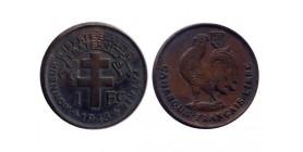 1 Franc Cameroun - France libre