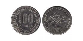 100 Francs Cameroun - République fédérale du Cameroun