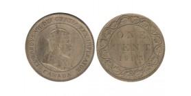1 Cent Edouard VII Canada
