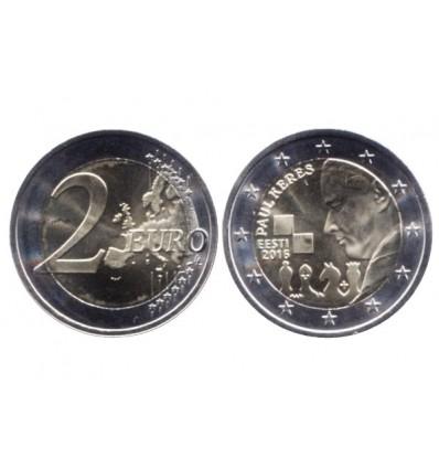 2 euros commémorative estonie