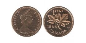 1 Cent Elisabeth II Canada