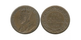 1 Cent Georges V Canada