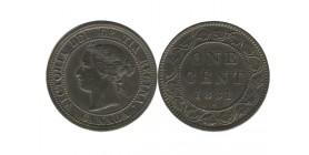 1 Cent Victoria Canada