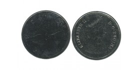 25 Cents Elisabeth II Canada
