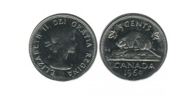 5 Cents Elisabeth II Canada