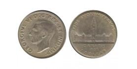 1 Dollar Georges VI Canada Argent