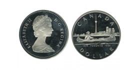 1 Dollar Elisabeth II Canada Argent