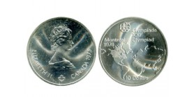 10 Dollars J. O. Montreal Canada Argent