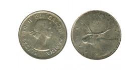 25 Cents Elisabeth II Canada Argent