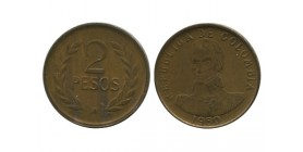 2 Pesos Colombie