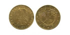 8 Escudos Colombie