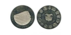 10 000 Pesos Colombie Argent
