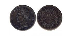 10 Centimes Charles X Colonies Générales