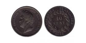 10 Centimes Louis Philippe Ier Colonies Générales