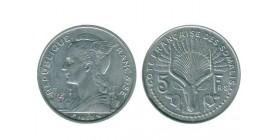 5 Francs Côte Française des Somalis