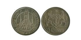 5 Gulden Dantzig Argent