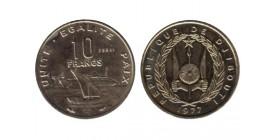10 Francs Djibouti
