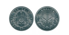 2 Francs djibouti