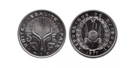 5 Francs Djibouti