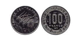 100 Francs Empire Centrafricain