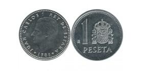 1 Peseta Juan Carlos Espagne