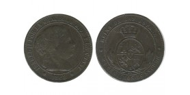 2 1/2 Centimos Isabelle II Espagne