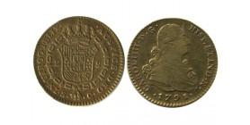 2 Escudos Charles IV Espagne