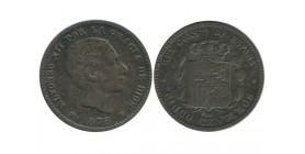 5 Centimos Alphonse XII Espagne