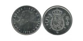 5 Pesetas Juan Carlos Espagne