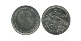 50 Pesetas Franco Espagne